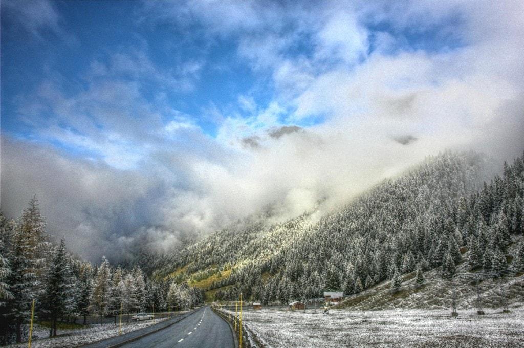 גרוסגלוקנר, נסיעה בהרים האוסטריים
