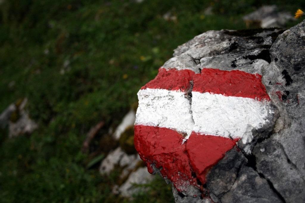 מסלולי הליכה. חלק מרכזי בכל טיול לאוסטריה