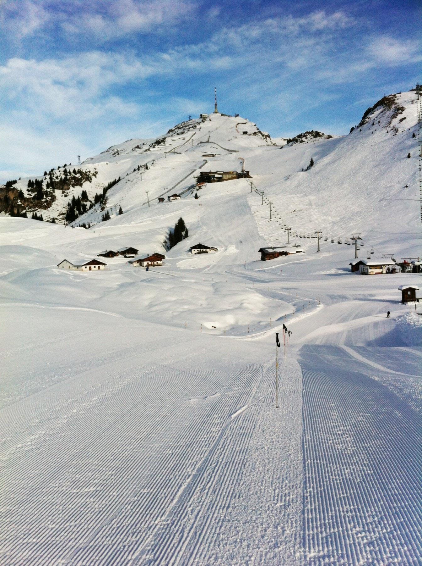 אתר הסקי Kitzbuehel