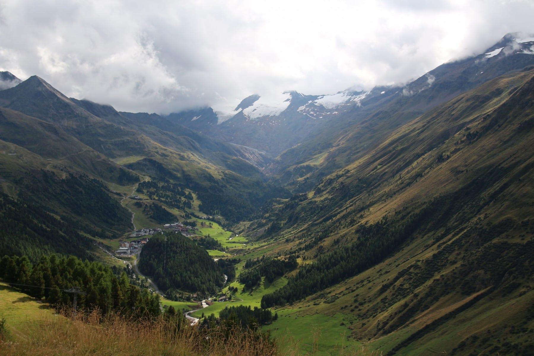 אתר הסקי Obergurgl
